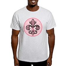 FleurPinkRibbonRwTR T-Shirt