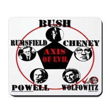 Axis of Evil Mousepad