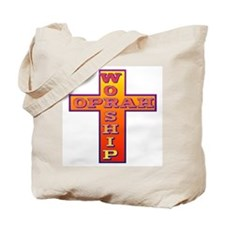 Worship Oprah Tote Bag