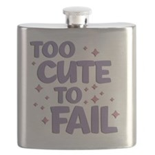 Too Cute to Fail Flask