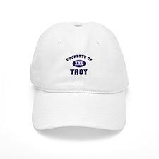 My heart belongs to troy Baseball Cap