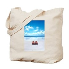 Cute Beach chair Tote Bag