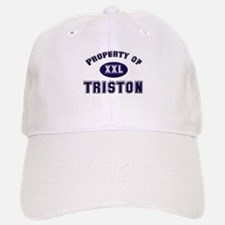 My heart belongs to triston Baseball Baseball Cap