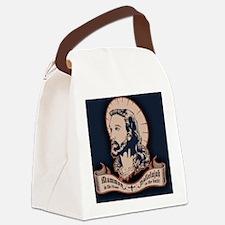 jesus-mullet-OV Canvas Lunch Bag