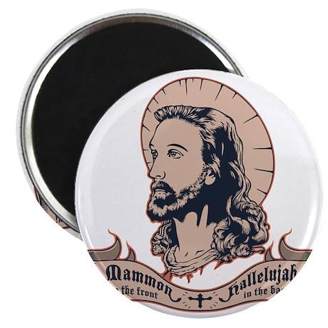jesus-mullet-T Magnet