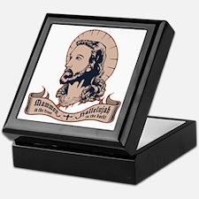 jesus-mullet-T Keepsake Box