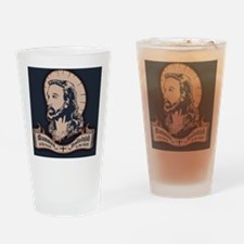 jesus-mullet-TIL Drinking Glass