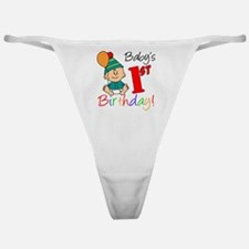 Babys First Birthday Classic Thong