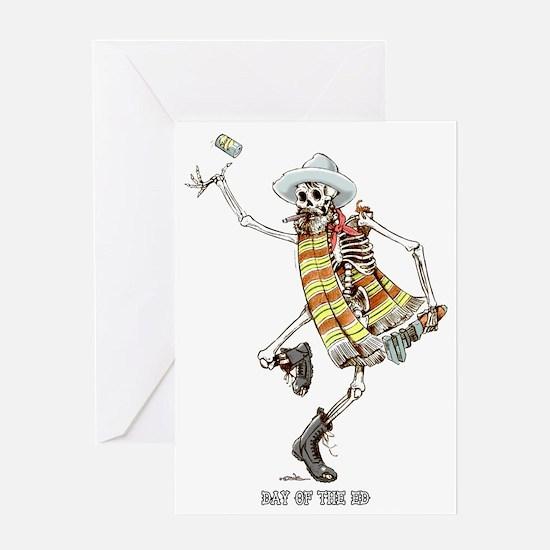 dead-ed Greeting Card