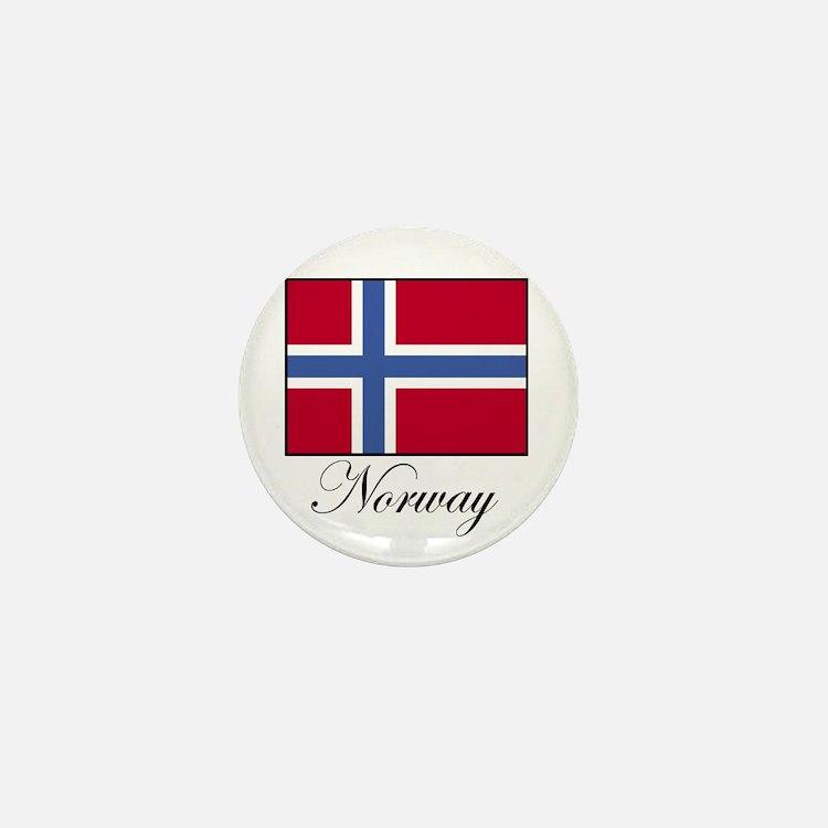 Norway - Norwegian Flag Mini Button