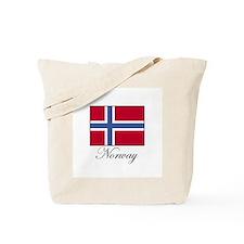 Norway - Norwegian Flag Tote Bag