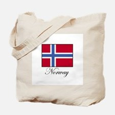 Norway - Norwegian Flag Tote Bag