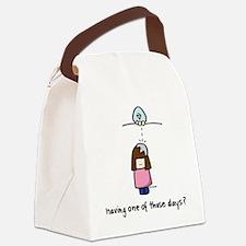Bird Poo Canvas Lunch Bag