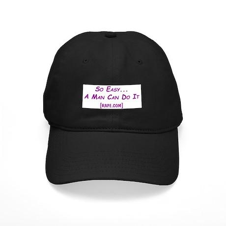 So Easy Rape.com Black Cap