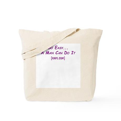 So Easy Rape.com Tote Bag