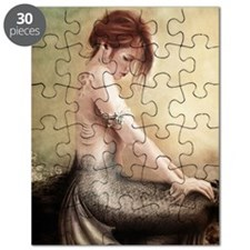 Sea Faerie, Cropped Puzzle