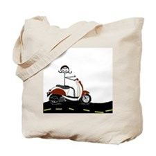Funny Vespa Tote Bag