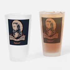 jesus-mullet-BUT Drinking Glass