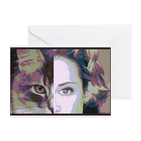Humanimal Greeting Cards (Pk of 10)