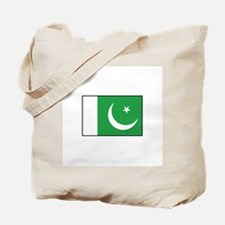 Pakistan Flag Tote Bag