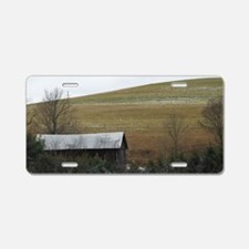 Wyeth Homage Aluminum License Plate