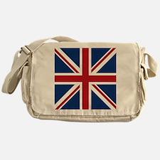 union-jack_18x18 Messenger Bag