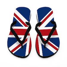union-jack_18x18 Flip Flops