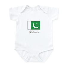 Pakistan - Pakistani Flag Infant Bodysuit