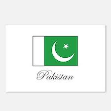 Pakistan - Pakistani Flag Postcards (Package of 8)