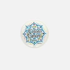 Colon-Cancer-Lotus Mini Button