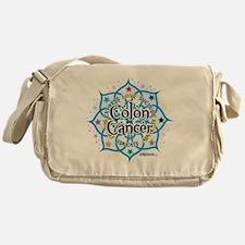 Colon-Cancer-Lotus Messenger Bag