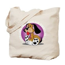 Fibromyalgia-Dog-blk Tote Bag