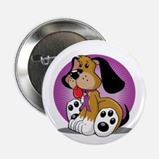 "Fibromyalgia-Dog-blk 2.25"" Button"