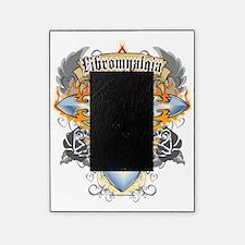 Fibromyalgia-Cross--Heart-blk Picture Frame