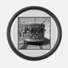 Streetcar 906 Large Wall Clock