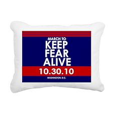 fear35button Rectangular Canvas Pillow
