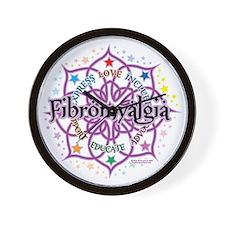 Fibromyalgia-Lotus Wall Clock