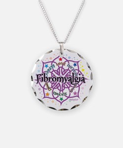 Fibromyalgia-Lotus Necklace