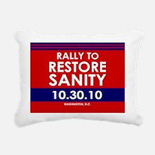 sanity35button Rectangular Canvas Pillow