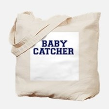 Baby Catcher Collegiate Tote Bag