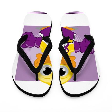 Knock-Out-Fibromyalgia-blk Flip Flops