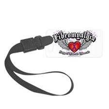 Fibromyalgia-Wings Luggage Tag