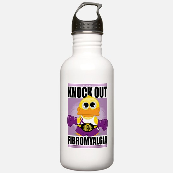 Knock-Out-Fibromyalgia Sports Water Bottle