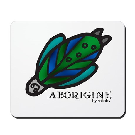 Aborigine by Sokabs Mousepad