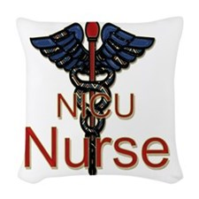 CAD. NICU  Woven Throw Pillow