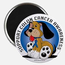 Colon-Cancer-Dog Magnet
