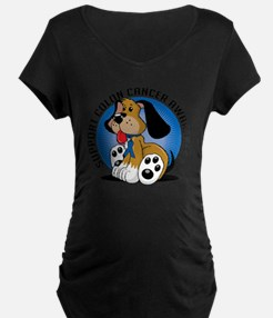 Colon-Cancer-Dog T-Shirt