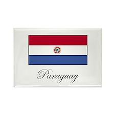 Paraguay - Flag Rectangle Magnet