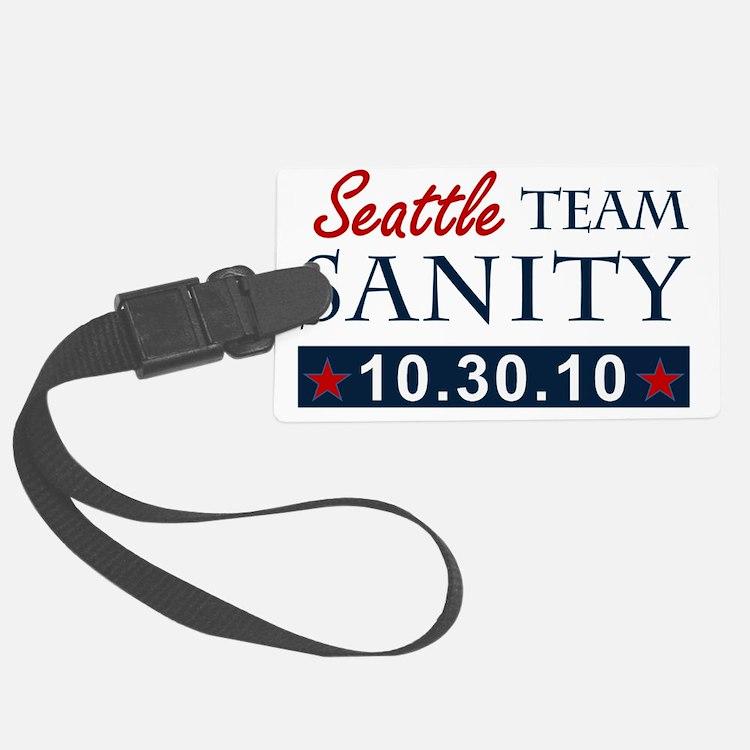 A1 Seattle teamsanity Luggage Tag