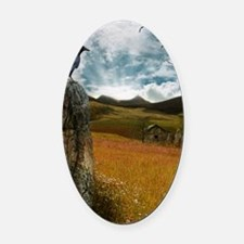 StandingStones Oval Car Magnet